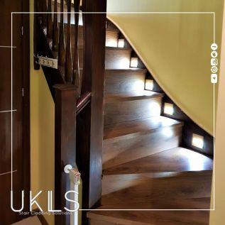 Chestnut Oak Laminate Stairs