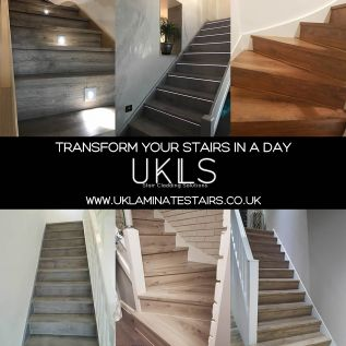 Transform your stairs in as little as a day