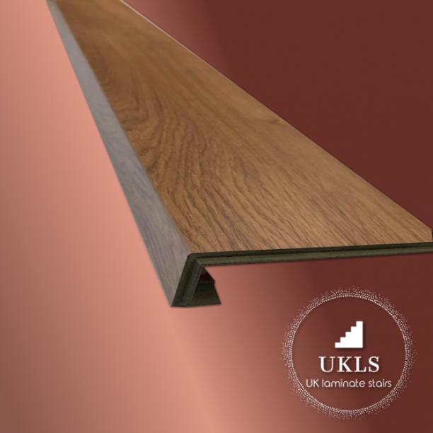 Laminate Stair Bullnose Classic Oak Stair Cladding Uk